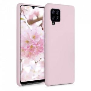 Силиконов гръб Soft Flexible Rubber - Samsung Galaxy A42 5G розов