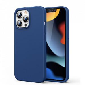 Силиконов гръб Ugreen Protective Soft Flexible Rubber - iPhone 13 Pro Max син