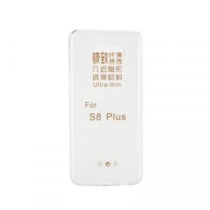 Ултратънък силиконов гръб 0.3mm - Samsung Galaxy S8 Plus прозрачен
