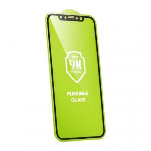 5D Full Glue гъвкав нано протектор - iPhone 6 Plus / 6s Plus черен