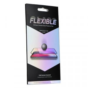 """5D Full Glue гъвкав нано протектор - iPhone 7 / 8 / SE 2020 4.7"""" черен"""