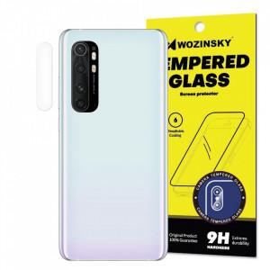 9H закален стъклен протектор за камера WOZINSKY - Xiaomi Mi Note 10 Lite
