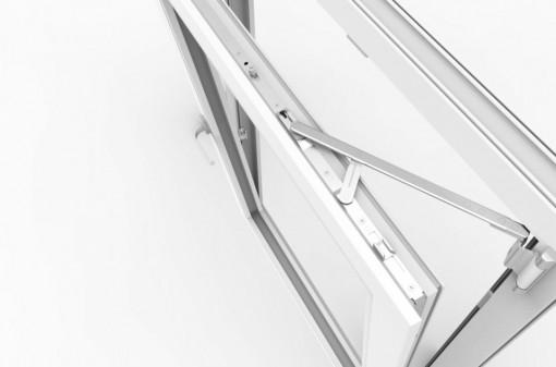 Kit feronerie fereastră termopan pvc deschidere oscilobatanta