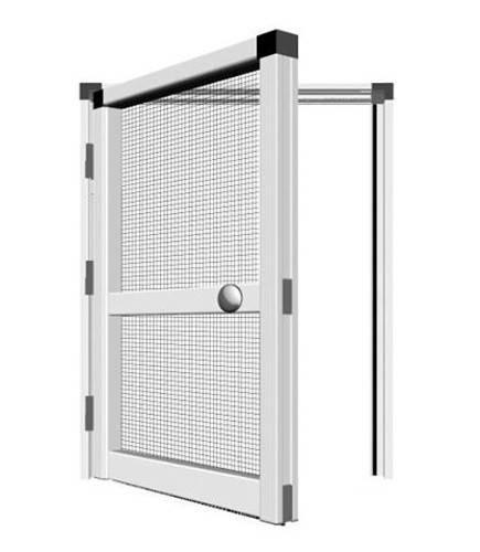 Plasă tantari pentru usa PVC si aluminiu premium cu arc