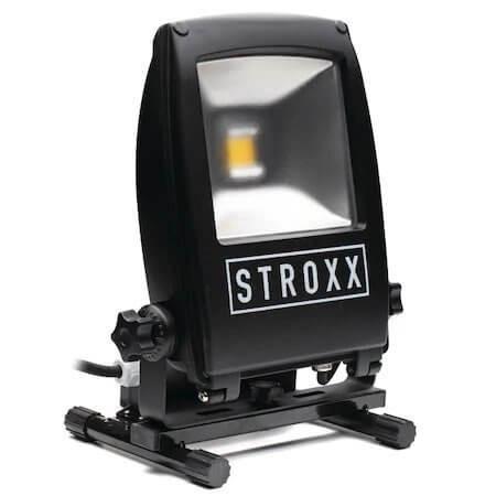 Lampa de lucru LED, STROXX, cu priza SCHUKO, 20W, 30W, 50W