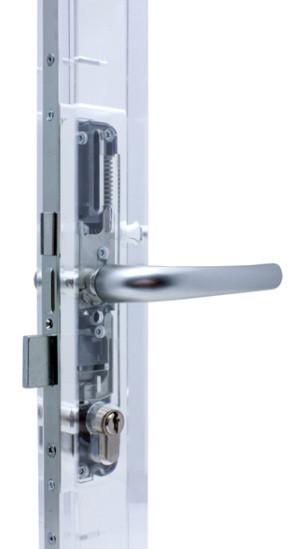 Broască-Yală simplă ușă pvc 20x85, 25x85, 30x85, 35x85, 25x92, 35x92