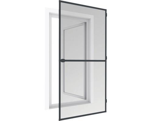 Cadru distantier aluminiu pentru plasă de tantari de usa, alb sau maro, 199x95cm
