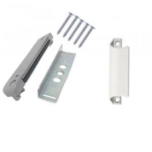 Sistem inchidere magnetic usa balcon + maner tip scoica, aluminiu, multicolor