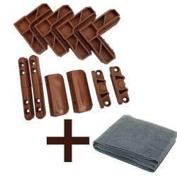 Kit accesorii plasă tantari + plasă din fibră de sticlă