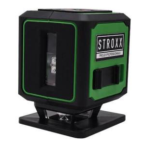 Nivela laser pentru podea cu fascicul verde, STROXX