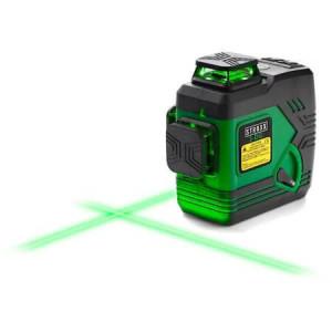 Nivela laser 3D, fascicul verde, STROXX