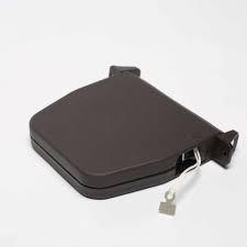 Tabachera pentru rulou exterior aluminiu alb, maro, Snur sau Panglica