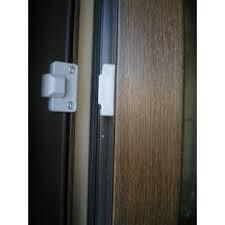 Balama ascunsă cu reglaj de presiune pe garnitura pentru ușă pvc cu geam termopan