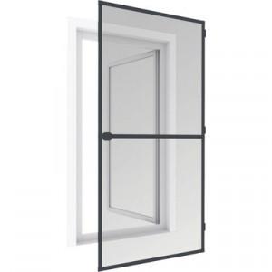 Cadru aluminiu pentru plasă de tantari de usa, alb sau maro, 199x95cm