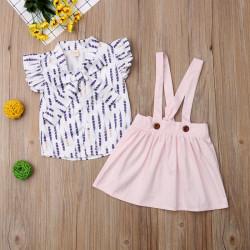 Set fusta + top fete rochie fete fusta haine copii moda pentru copii