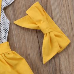 Set format din camasa + fusta + bentita