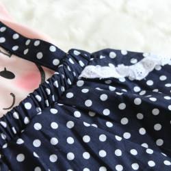 Rochie casual cu imprimeu buline