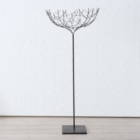 Decoratiune metalica forma copac, Nido, 175 cm inaltime