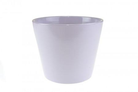 Ghiveci teracota, lila, 11.5x13.5 cm