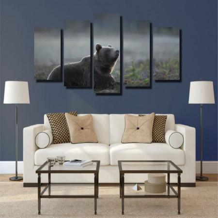 Tablou canvas pe panza animals 4 - KM-CM5-ANM4