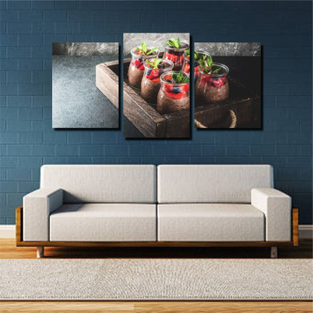 Tablou canvas pe panza food 2 - KM-CM3-FOD2