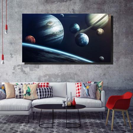 Tablou canvas pe panza space 6 - KM-CM1-SPC6