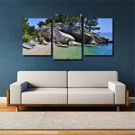 Tablou canvas pe panza beach 2 - KM-CM3-BCH2