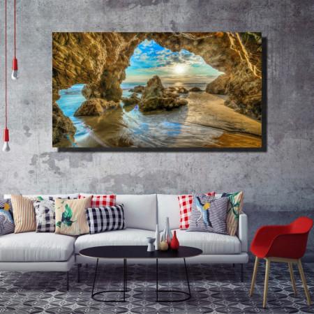 Tablou canvas pe panza beach 3 - KM-CM1-BCH3