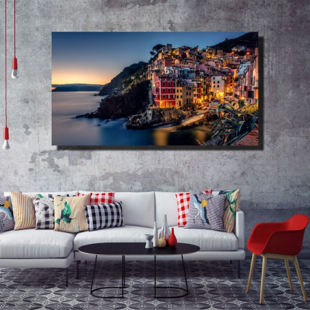 Tablou canvas pe panza city 12 - KM-CM1-CTY12