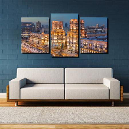Tablou canvas pe panza city 2 - KM-CM3-CTY2