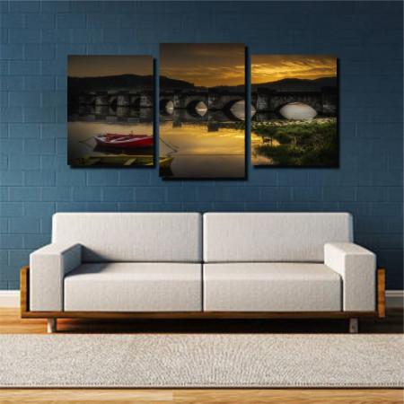 Tablou canvas pe panza landscape 21 - KM-CM3-LND21