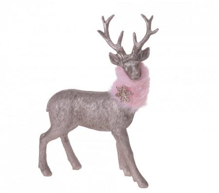Figurina ren gri, 21 cm