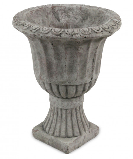 Pocal de piatra gri, 25x20 cm