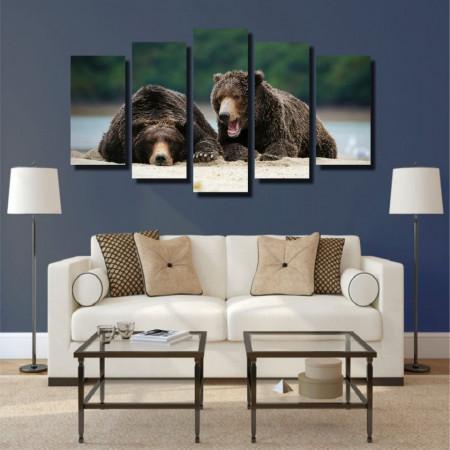 Tablou canvas pe panza animals 6 - KM-CM5-ANM6
