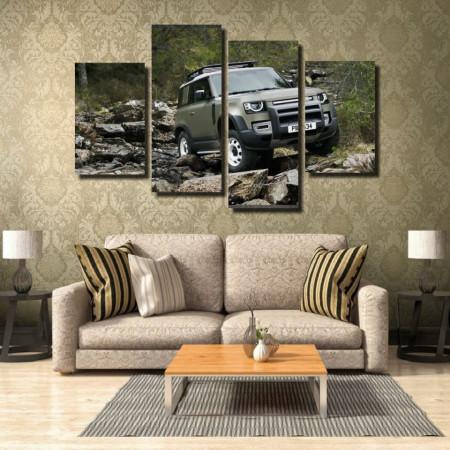 Tablou canvas pe panza car 10 - KM-CM4-CAR10