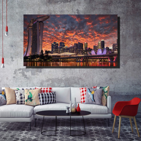 Tablou canvas pe panza city 13 - KM-CM1-CTY13
