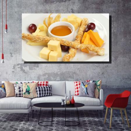 Tablou canvas pe panza food 4 - KM-CM1-FOD4