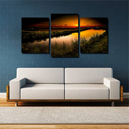 Tablou canvas pe panza landscape 22 - KM-CM3-LND22