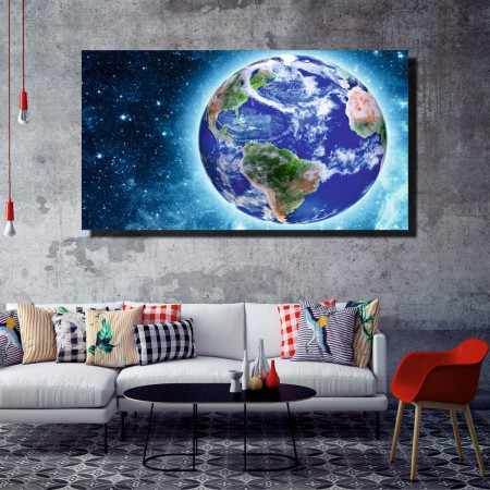 Tablou canvas pe panza space 8 - KM-CM1-SPC8