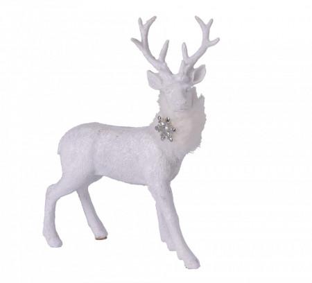 Figurina, ren alb, 21 cm