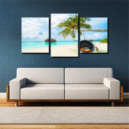 Tablou canvas pe panza beach 4 - KM-CM3-BCH4