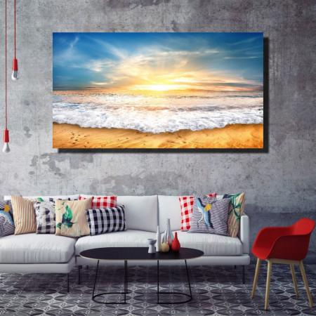 Tablou canvas pe panza beach 5 - KM-CM1-BCH5