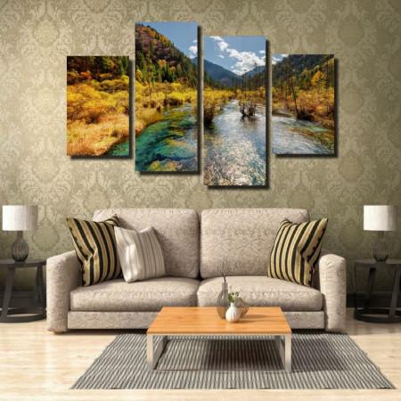 Tablou canvas pe panza landscape 19 - KM-CM4-LND19