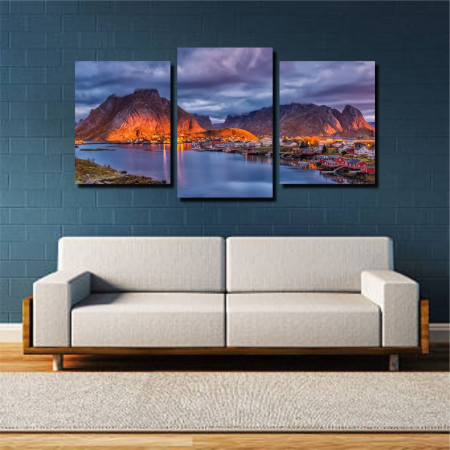 Tablou canvas pe panza landscape 23 - KM-CM3-LND23