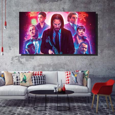 Tablou canvas pe panza movie 7 - KM-CM1-MVE7