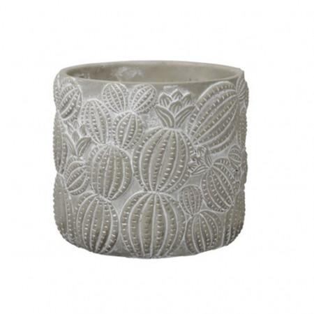Ghiveci ceramica, model cactus, 14,5x14 cm