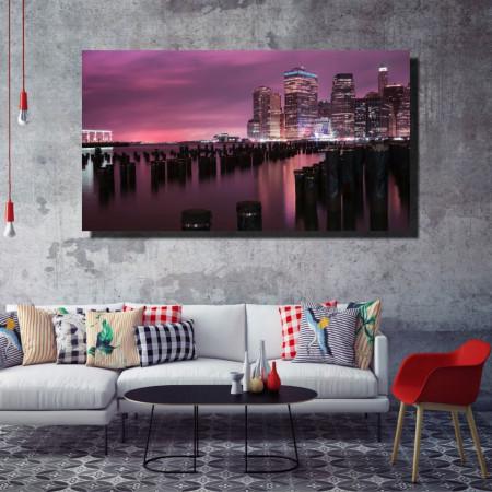 Tablou canvas pe panza city 15 - KM-CM1-CTY15