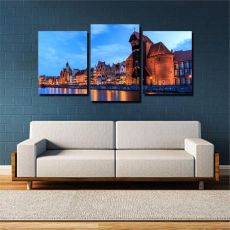 Tablou canvas pe panza city 15 - KM-CM3-CTY15