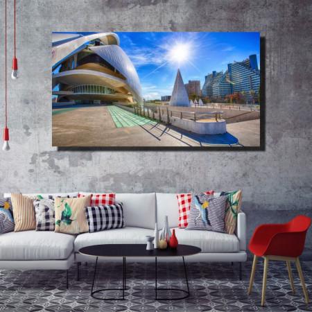 Tablou canvas pe panza city 5 - KM-CM1-CTY5