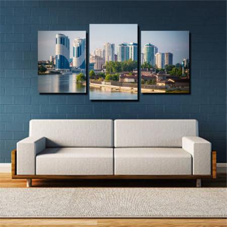 Tablou canvas pe panza city 5 - KM-CM3-CTY5